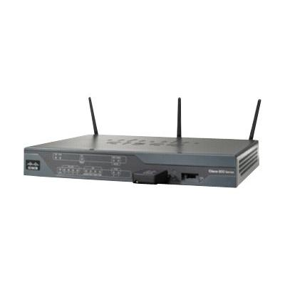 Cisco 881W - wireless router - 802.11b/g/n (draft 2.0) - desktop  PERP