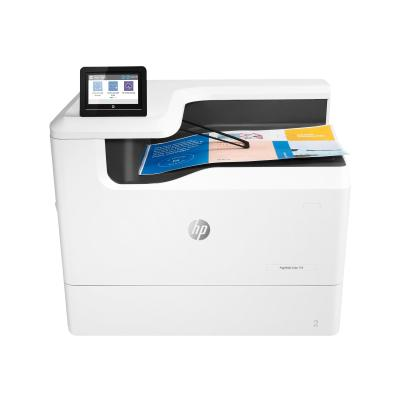 HP PageWide Color 755dn - printer - color - page wide array (English, French, Spanish / Canada, United States)  PLOT