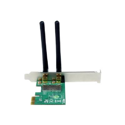 StarTech.com PCI Express Wireless N Card - 300 Mbps PCIe 802.11 b/g/n Network Adapter Card - 2T2R 2.2 dBi - PCIe Wireless Desktop Card (PEX300WN2X2) - network adapter - PCIe