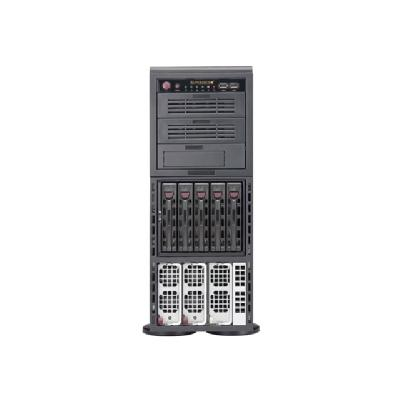 Supermicro SuperServer 8048B-C0R4FT - tower - no CPU - 0 MB  RM