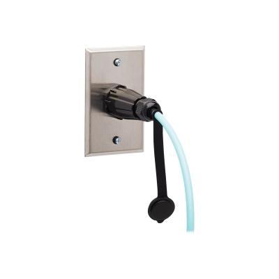 Tripp Lite 10Gb Rigid Industrial Duplex Multimode 50/125 OM3 Fiber Patch Cable (LC/LC) - IP68, Aqua, 5 m (16.4 ft.) - patch cable - 5 m - aqua ECABL