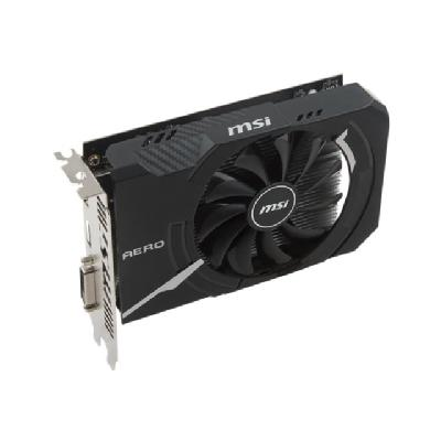 MSI RX 550 AERO ITX 2G OC graphics card - Radeon RX 550 - 2 GB  128 bits  400 W  DL-DVI-D/HIM I1/DP1  241X168X52MM
