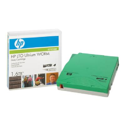 HPE - LTO Ultrium WORM x 1 - 800 GB - storage media a Tape