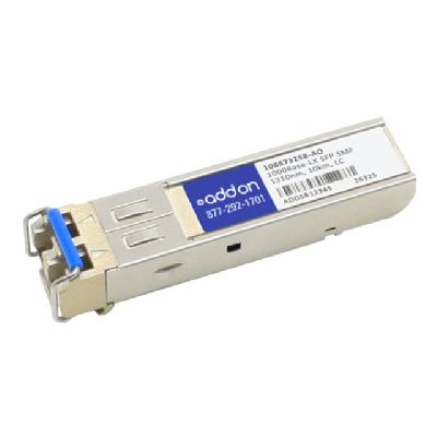 AddOn Avaya 108873258 Compatible GBIC Transceiver - GBIC transceiver module - GigE  PERP