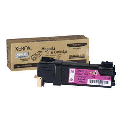 Xerox Phaser 6125 - magenta - original - toner cartridge 00 pages - Phaser 6125 PALLET QTY = 375