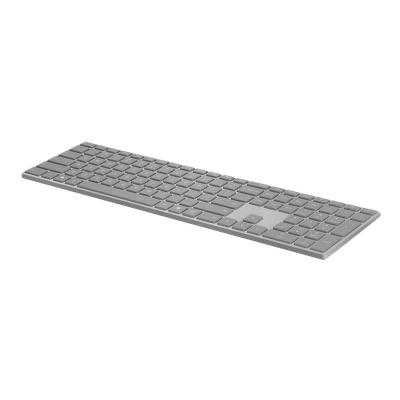 Microsoft Surface Keyboard - keyboard - Canadian French - gray FRCAN HDWR COM GRAY