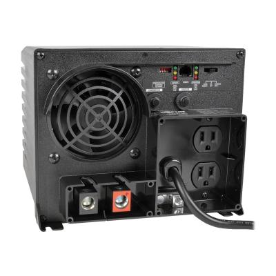 Tripp Lite 1250W APS 12VDC 120V Inverter / Charger w/ Auto Transfer Switching ATS 2 Outlets 5-15R - DC to AC power inverter - 1.25 kW (Canada, United States) 0V Inverter/Charger with Auto Transfer Switching