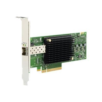 Emulex 16Gb (Gen 6) FC Single-port HBA - host bus adapter - PCIe 3.0 x8 - 16Gb Fibre Channel  CTLR