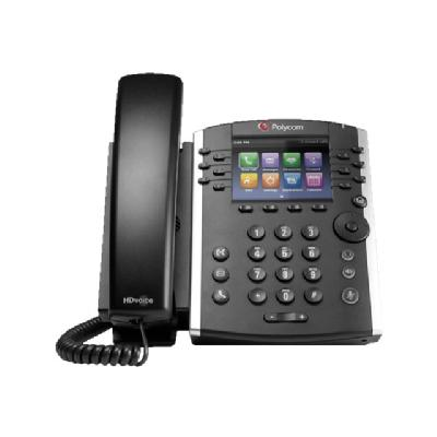 Poly VVX 400 - VoIP phone - 3-way call capability WITH HD VO