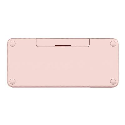 Logitech K380 Multi-Device Bluetooth Keyboard - keyboard - QWERTY - US - rose  WRLS