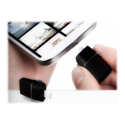 SanDisk Ultra Dual - USB flash drive - 64 GB (Canada) Retail  4x