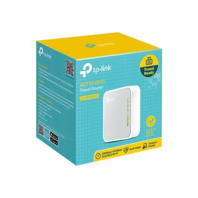 TP-Link TL-WR902AC - wireless router - 802.11a/b/g/n/ac - desktop