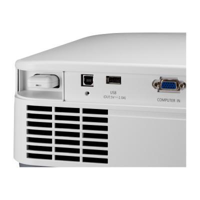 NEC NP-P525UL - LCD projector - LAN  20 000 hours light source lif e  5200 Lumen Entry