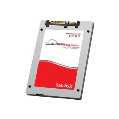 SanDisk CloudSpeed Ascend - solid state drive - 480 GB - SATA 6Gb/s  2.5