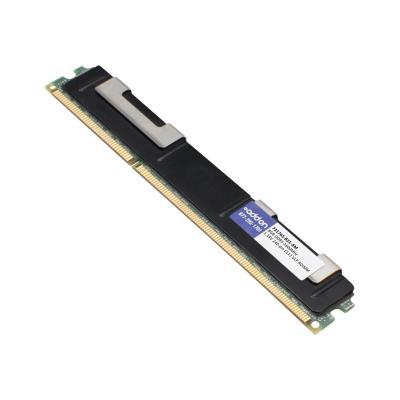 AddOn 8GB Factory Original RDIMM for HP 731765-B21 - DDR3 - 8 GB - DIMM 240-pin - registered  Factory Original 8GB DDR3-160 0MHz Registered ECC