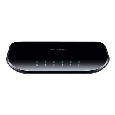 TP-LINK TL-SG1005D 5-Port Gigabit Desktop Switch - switch - 5 ports witch  2 years warranty