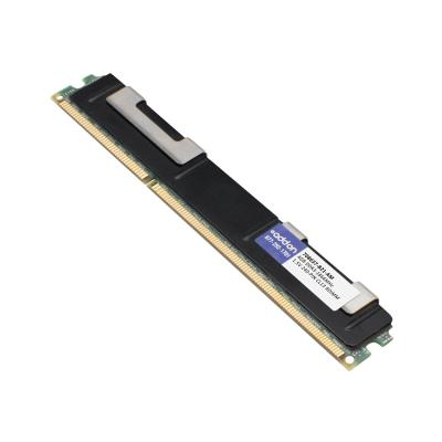 AddOn 4GB Factory Original RDIMM for HP 708637-B21 - DDR3 - 4 GB - DIMM 240-pin - registered  Factory Original 4GB DDR3-186 6MHz Registered ECC