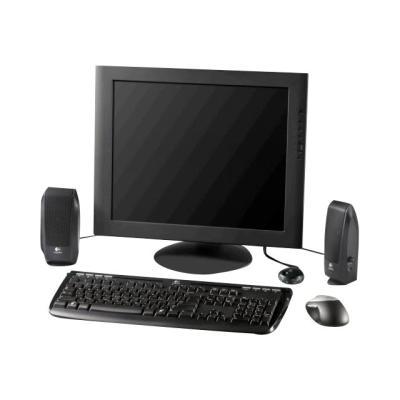 Logitech S-120 - speakers - for PC tem