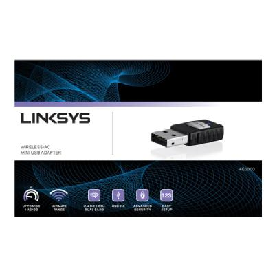 Linksys Mini AC Adapter AC580 - network adapter (Canada) I USB ADAPTER FRENCH