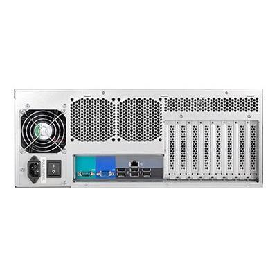 Chenbro RM41300 - rack-mountable - 4U - extended ATX dundant PSU. (PSU  650W  1+1 R PSU  AcBel R2IS7651A