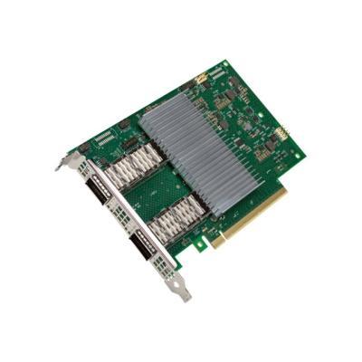 Intel E810-2CQDA2 - network adapter - PCIe 4.0 x16 - QSFP28 x 2