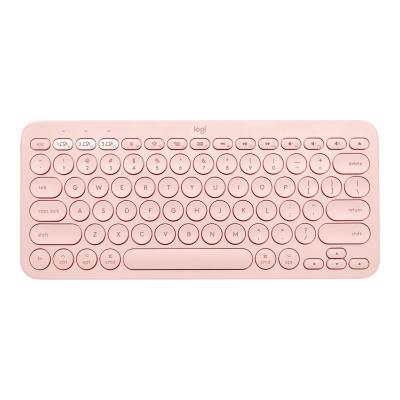 Logitech K380 Multi-Device Bluetooth Keyboard for Mac - keyboard - rose