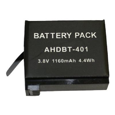 BTI battery Li-Ion Hero 4  Hero 4 Black  Hero 4 S ilver; replaces AHDB