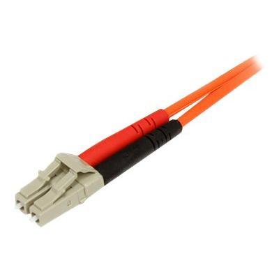 StarTech.com 2m Fiber Optic Cable - Multimode Duplex 62.5/125 - LSZH - LC/SC - OM1 - LC to SC Fiber Patch Cable (FIBLCSC2) - network cable - 2 m  CABL