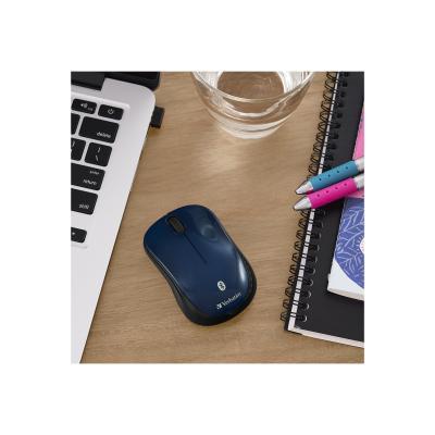 Verbatim Wireless Tablet Multi-Trac Blue LED Mouse - mouse - Bluetooth - dark teal  WRLS