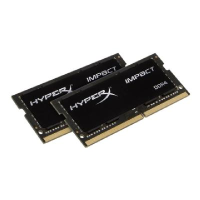 HyperX Impact - DDR4 - 32 GB: 2 x 16 GB - SO-DIMM 260-pin (Kit of 2) HyperX Impact