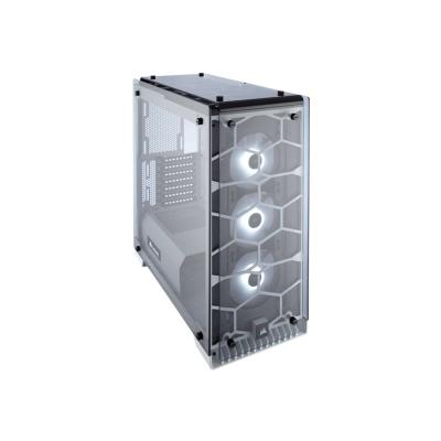 CORSAIR Crystal Series 570X RGB - tower - ATX B Tempered Glass Premium ATX M id-Tower Case  WHITE