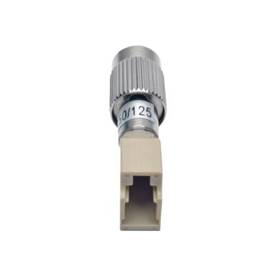 Tripp Lite Optical Fiber Cable Tester Adapter FC/LC 50/125 M/F - network adapter - silver, beige  CPNT