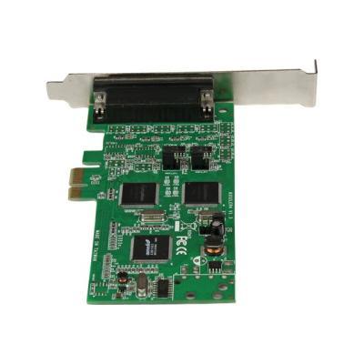 StarTech.com 4 Port PCI Express PCIe Serial Combo Card - serial adapter - PCIe - 4 ports 85 serial ports to your PC thr ough a PCI-Express e