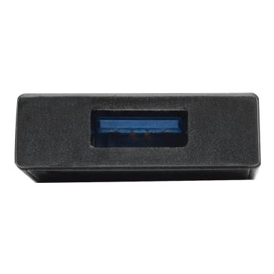 Tripp Lite 4-Port Portable Slim USB 3.0 Superspeed Hub w/ Built In Cable - hub - 4 ports  PERP