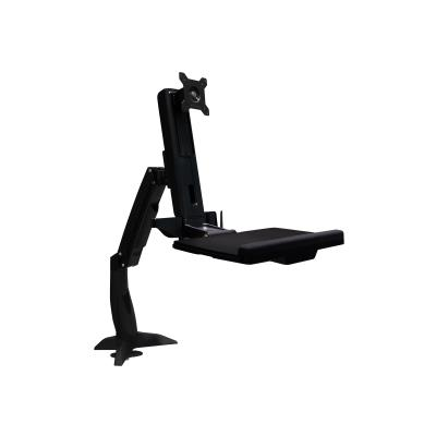 Amer AMR1ACWS - mounting kit mp Mount. Foldable keyboard tr ay and retractable m