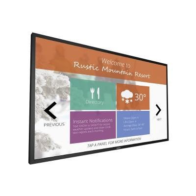 """Philips Signage Solutions 55BDL4051T 55"""" Class (54.64"""" viewable) LED display - Full HD d/m2 - Typical:1100:1  Dynamic  :500 000:1 - 12 Ms"""