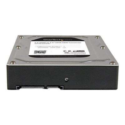 """StarTech.com 2.5"""" to 3.5"""" SATA HDD/SSD Adapter Enclosure - External Hard Drive Converter with HDD/SSD Height up to 12.5mm (25SAT35HDD) - storage enclosure - SATA 6Gb/s - SATA 6Gb/s to a 3.5inch SATA Drive -2.5 t o 3.5 HDD Adapter -2"""