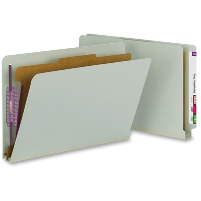 Smead Classification Folders with SafeSHIELD Fasteners  *** MINIMUM ORDER QTY = 10 ***