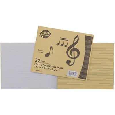 Hilroy Music Dictation Notebook