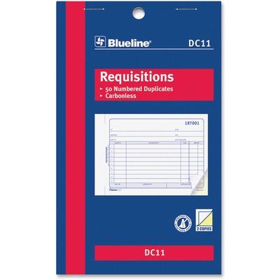 Blueline Requisition Form