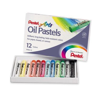 Pentel Round Stic Oil Pastel