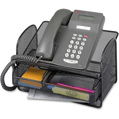 Safco Onyx Mesh Telephone Stand