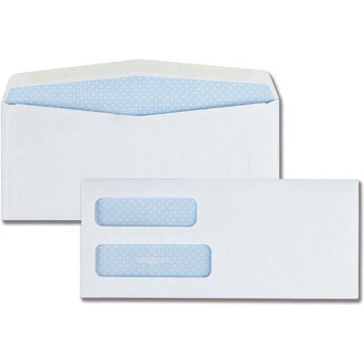 Quality Park No. 10Double Window Security Envelopes