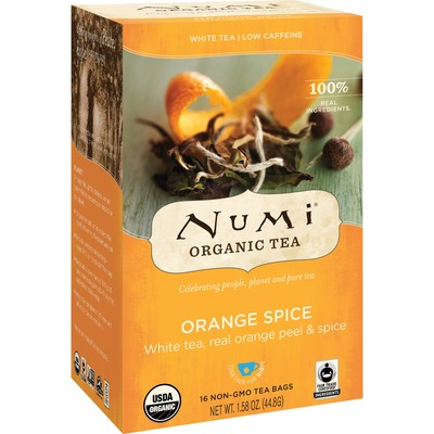 Numi Orange Spice Organic White Tea
