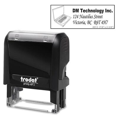 Trodat Climate Neutral 4913 Self-inking Stamp