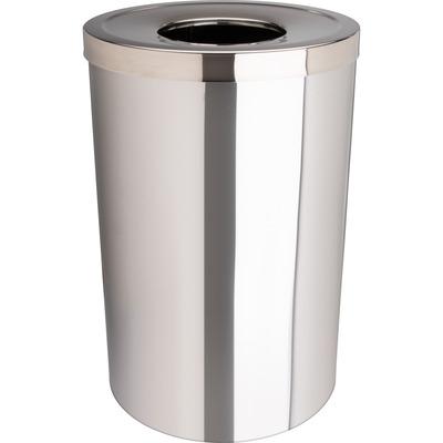 Genuine Joe 30 Gallon Stainless Steel Trash Receptacle