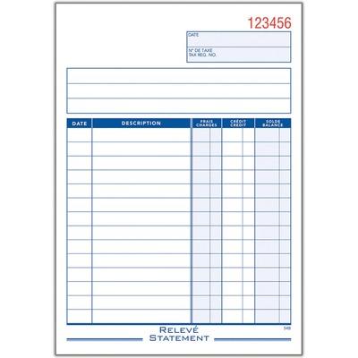 Adams Statement Forms Book