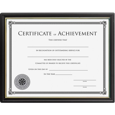 Lorell Multipurpose Frame with Cert. of Achievement