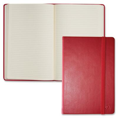 "Quo Vadis Habana Notebook, 8-1/4""x11-3/4"", 80 Shts, Red"