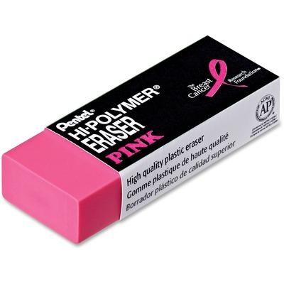 Pentel Hi-Polymer Breast Cancer Awareness Pink Eraser